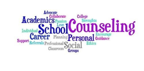 Counseling related words
